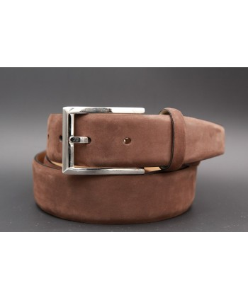 Brown nubuck belt