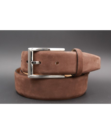 Brown nubuck belt