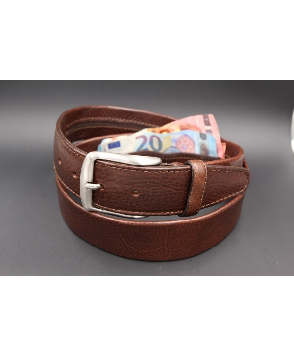 Brown money belt