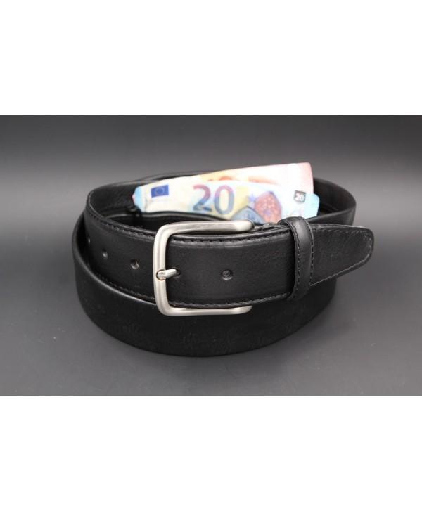 Black money belt