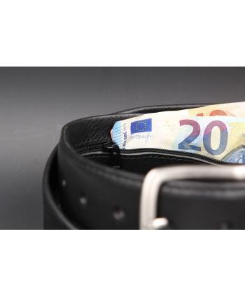 Black money belt - detail 1