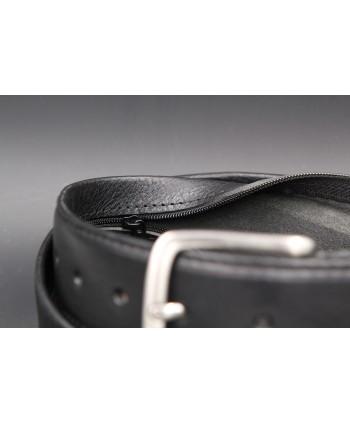Black money belt - detail 2
