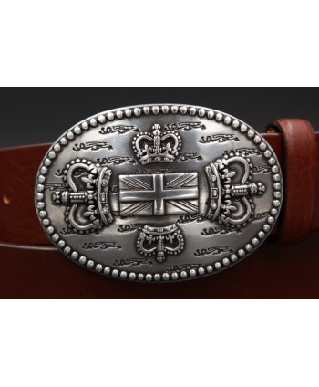 Large belt English buckle - detail buckle