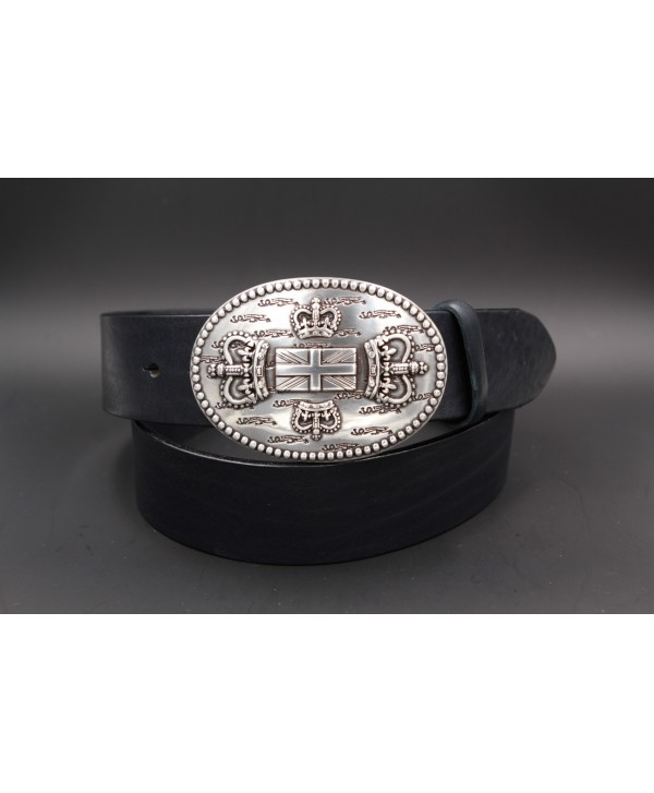 Navy Large belt English buckle