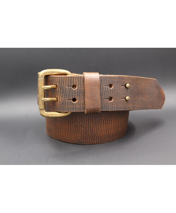 Western double-pronged large belt