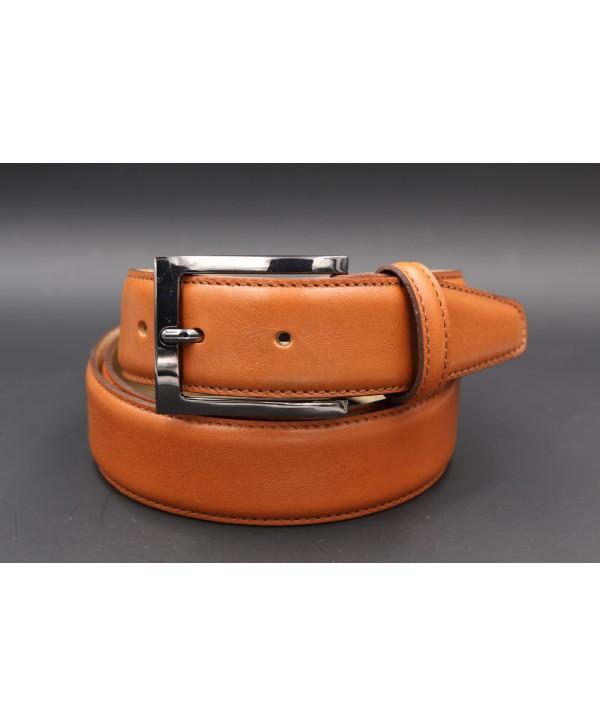 Camel soft leather belt