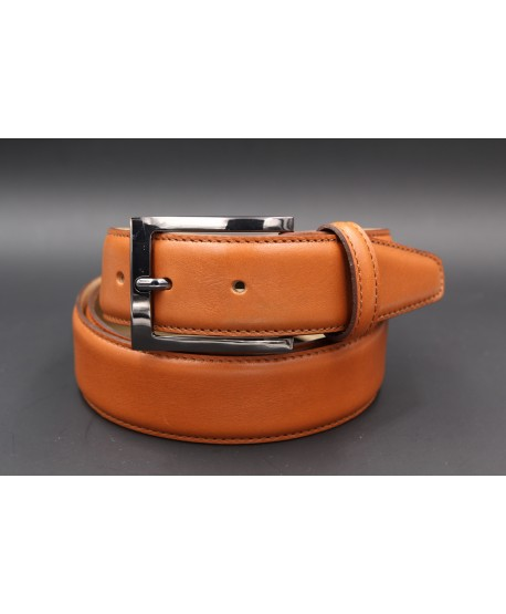 Camel soft leather belt