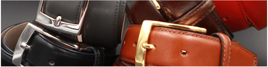 Belt large size genuine leather